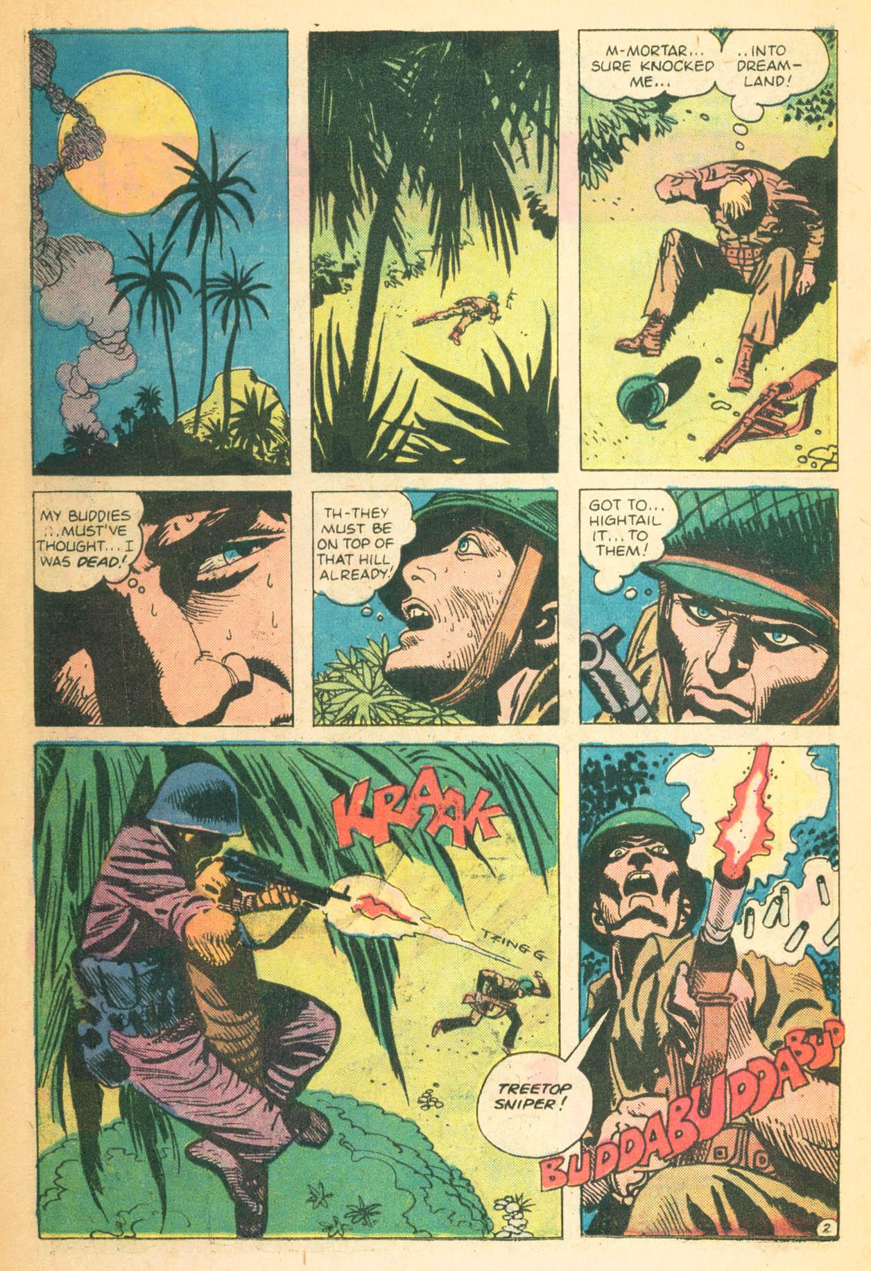 Read online Sgt. Rock comic -  Issue #302 - 26