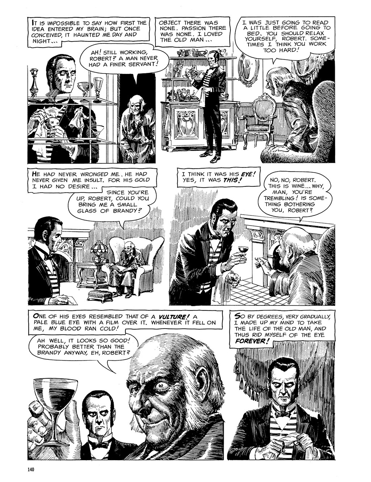 Read online Eerie Archives comic -  Issue # TPB 3 - 141