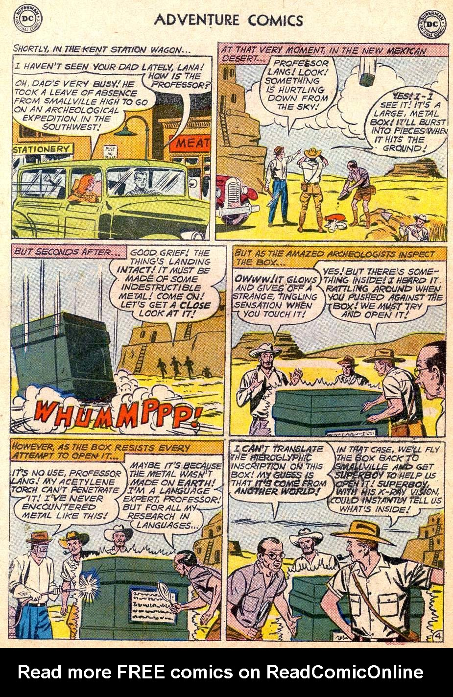 Read online Adventure Comics (1938) comic -  Issue #283 - 6