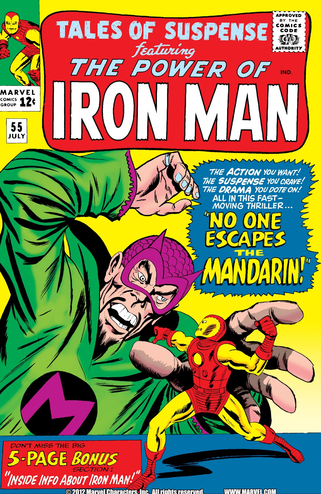 Read online Marvel Masterworks: The Invincible Iron Man comic -  Issue # TPB 2 (Part 1) - 60
