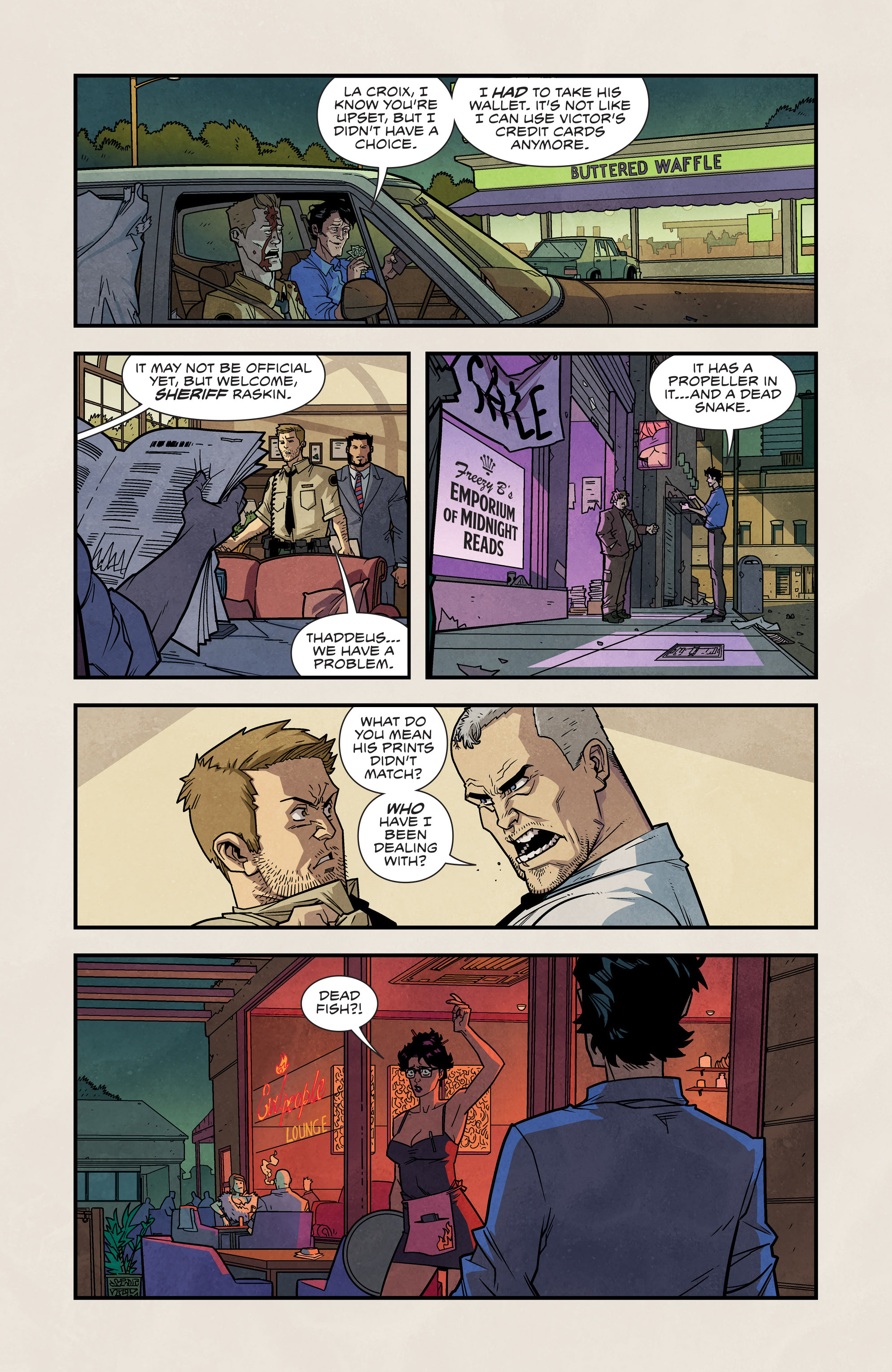 Read online Plastic comic -  Issue #2 - 12