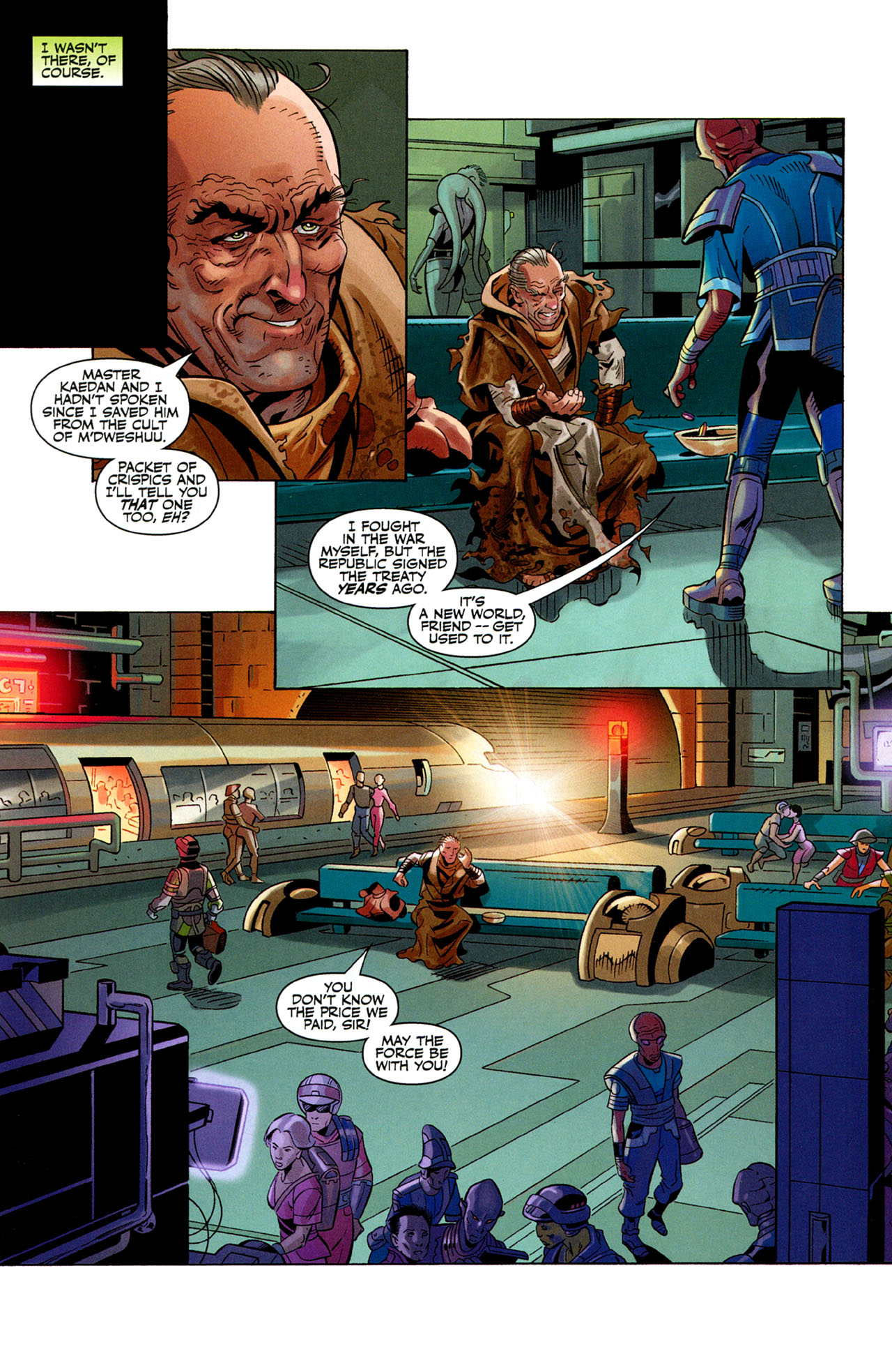 Read online Star Wars: The Old Republic - The Lost Suns comic -  Issue #1 - 7
