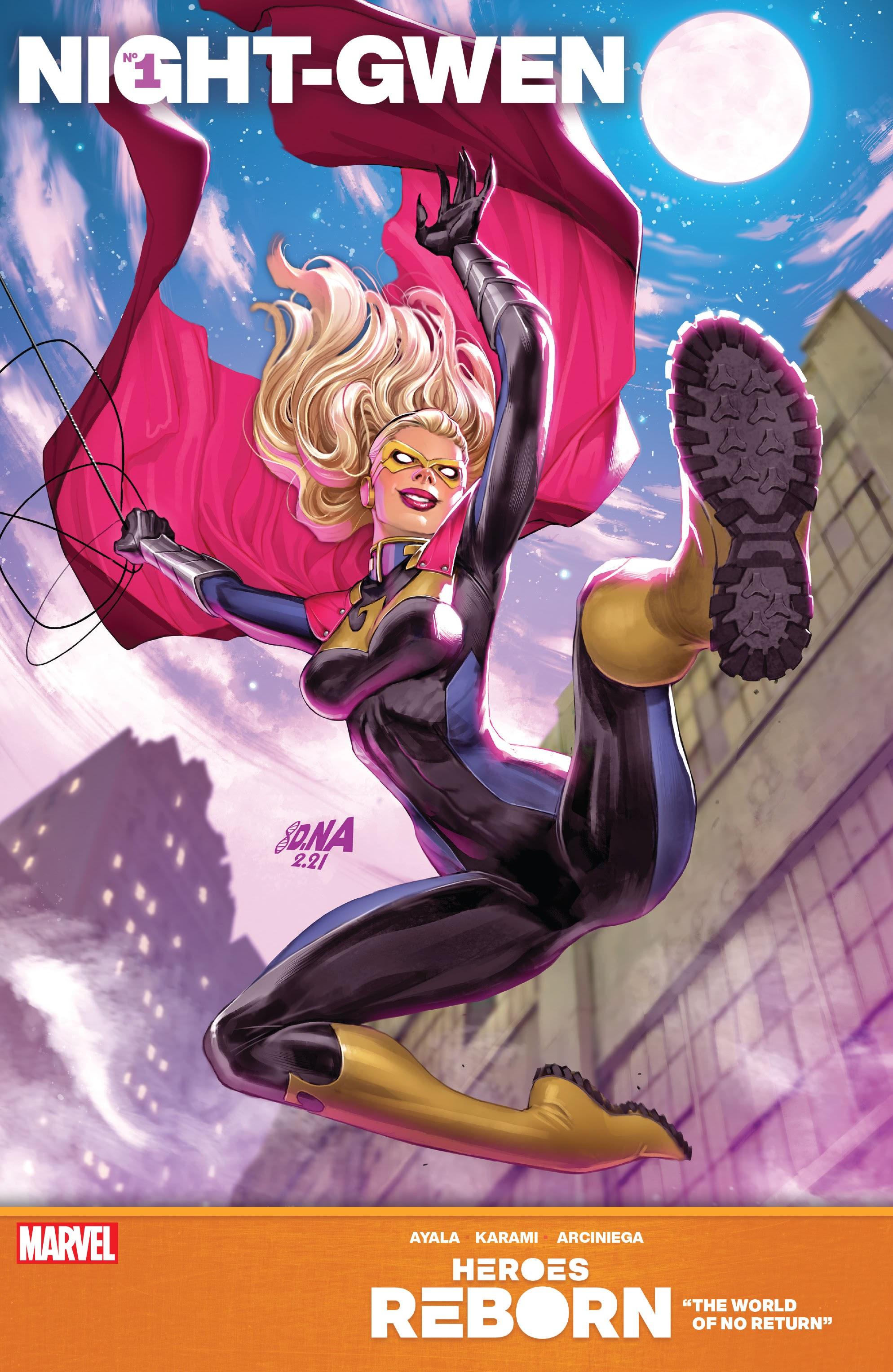 Heroes Reborn: One-Shots Night-Gwen Page 1