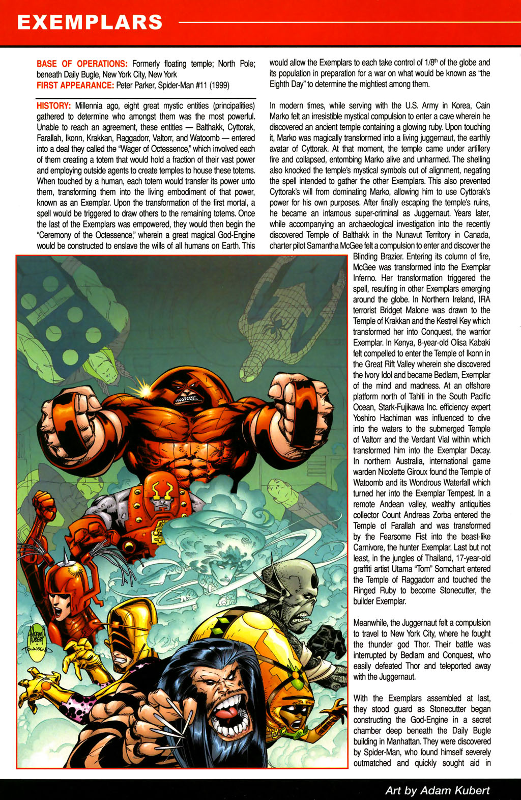 Read online All-New Official Handbook of the Marvel Universe A to Z comic -  Issue #4 - 24