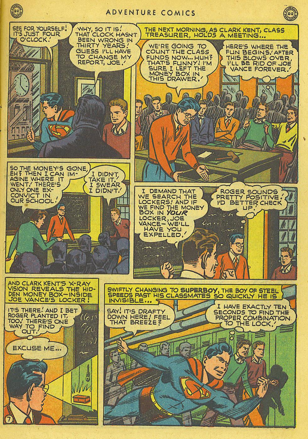 Read online Adventure Comics (1938) comic -  Issue #136 - 9
