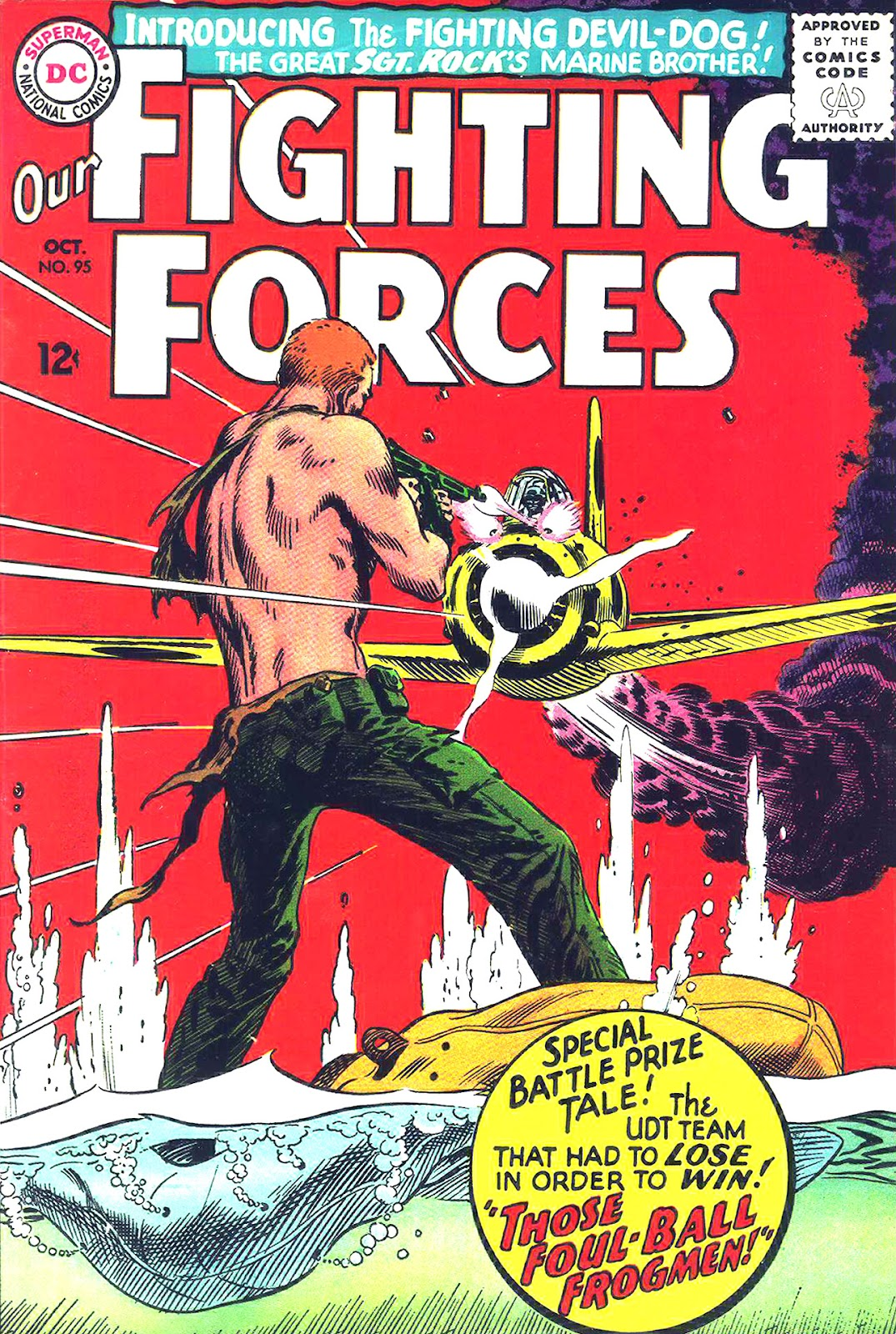 Our Fighting Forces (1954) issue 95 - Page 1