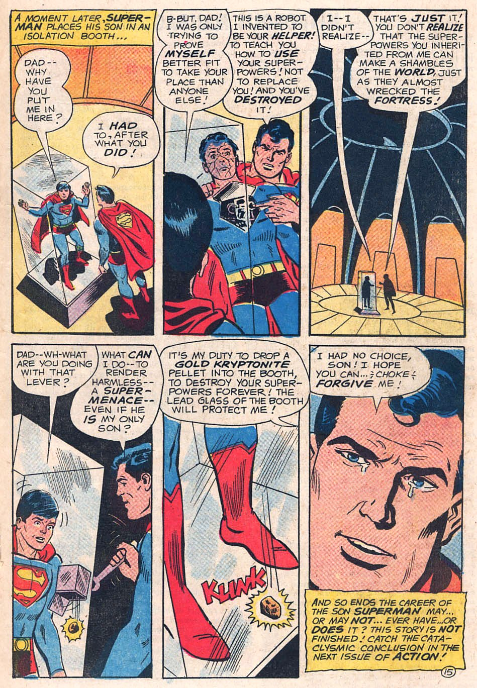 Read online Action Comics (1938) comic -  Issue #391 - 19