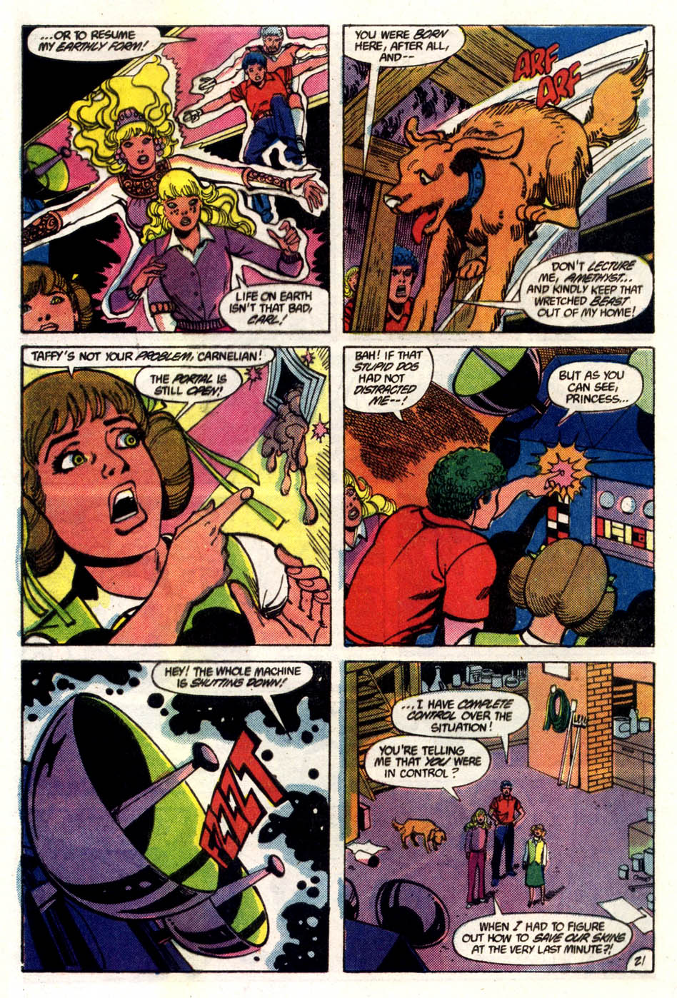 Read online Amethyst (1985) comic -  Issue #5 - 22