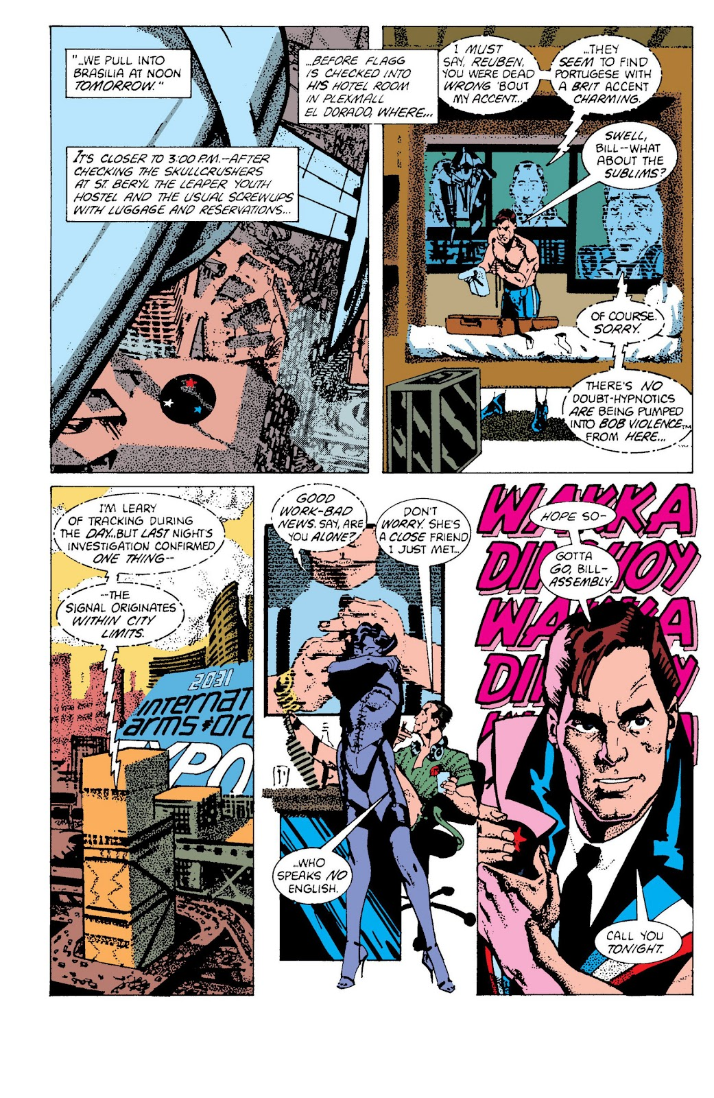 American Flagg! issue Definitive Collection (Part 2) - Page 61