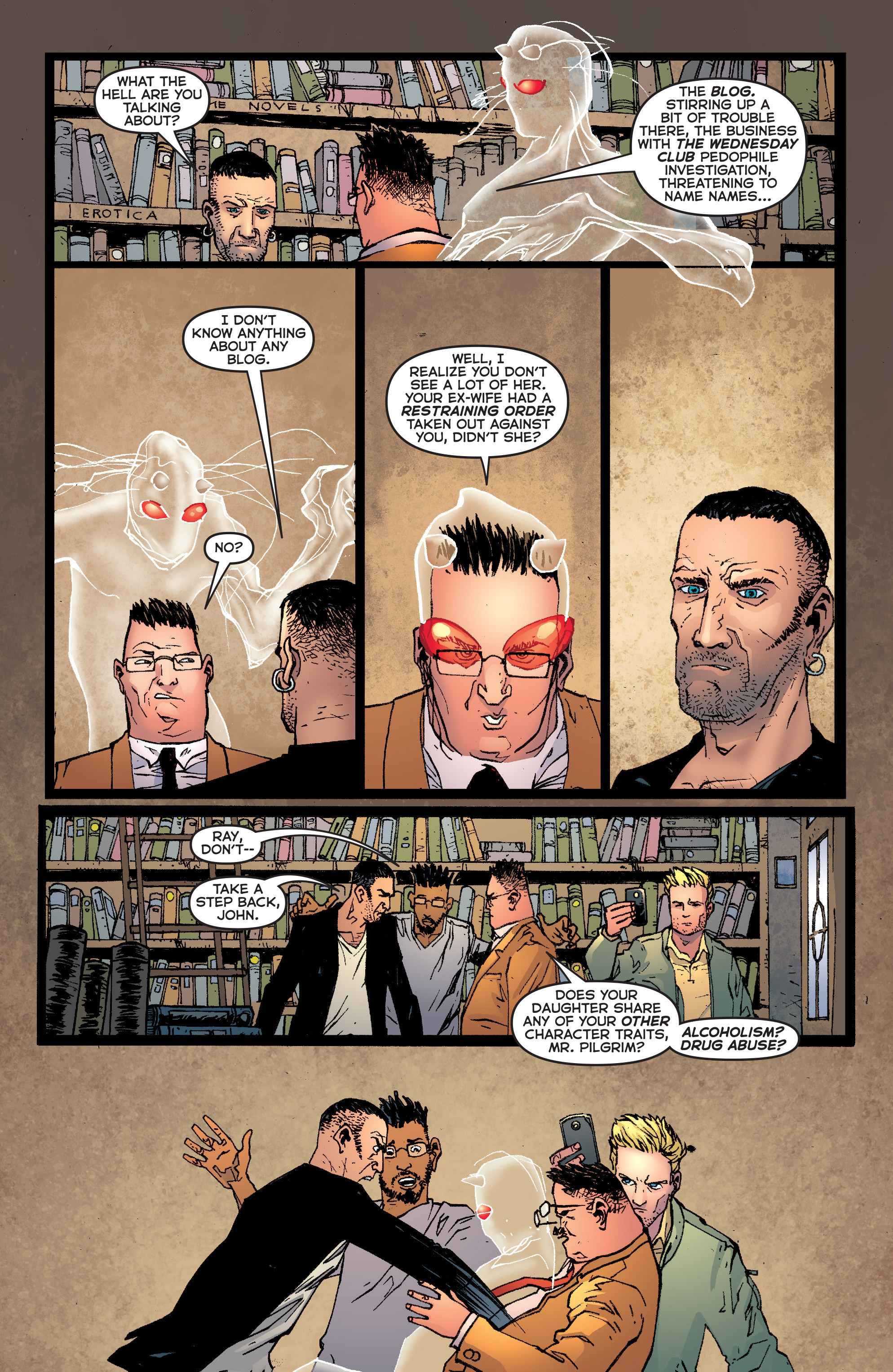 Read online Second Sight comic -  Issue #1 - 7