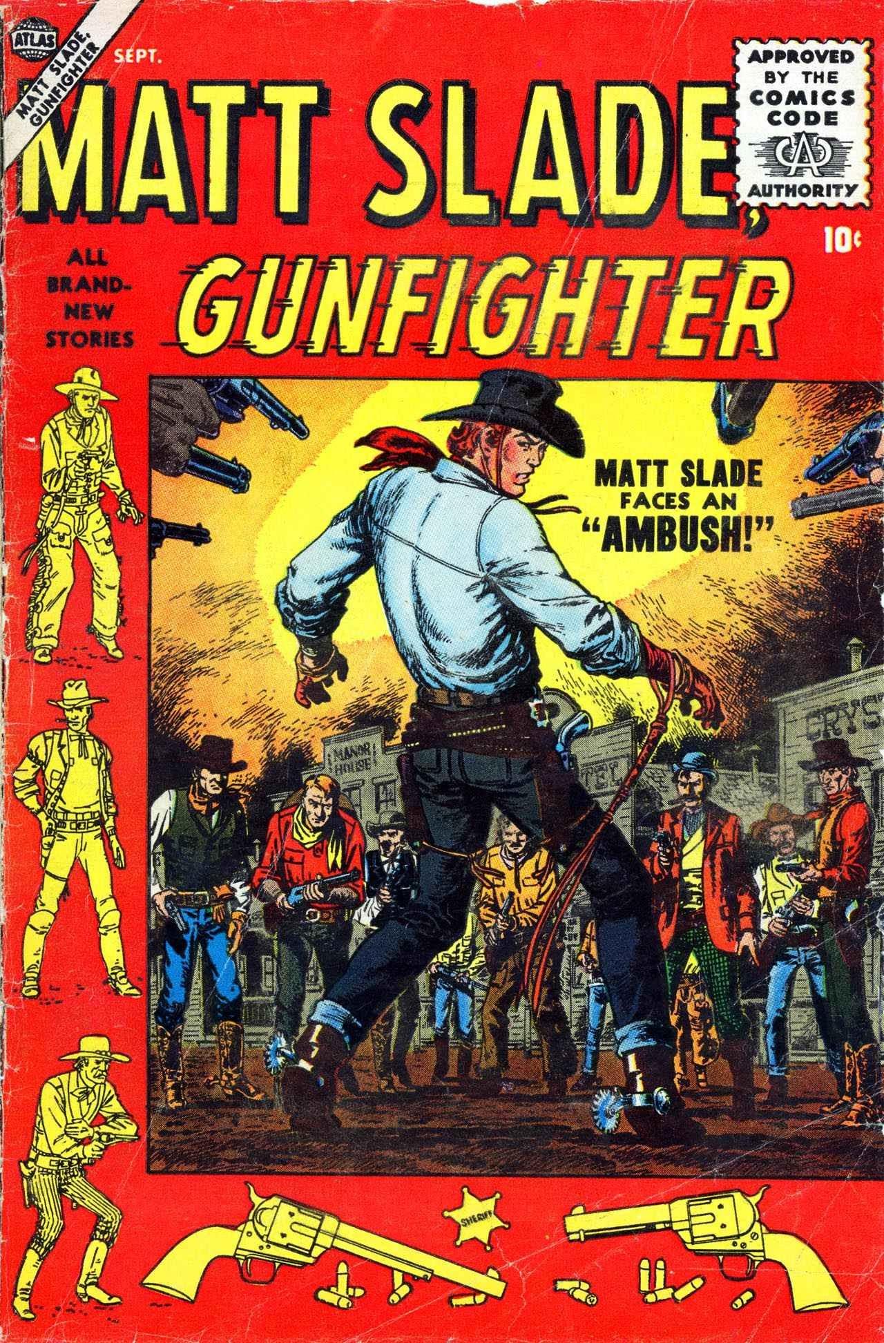 Matt Slade, Gunfighter 3 Page 1