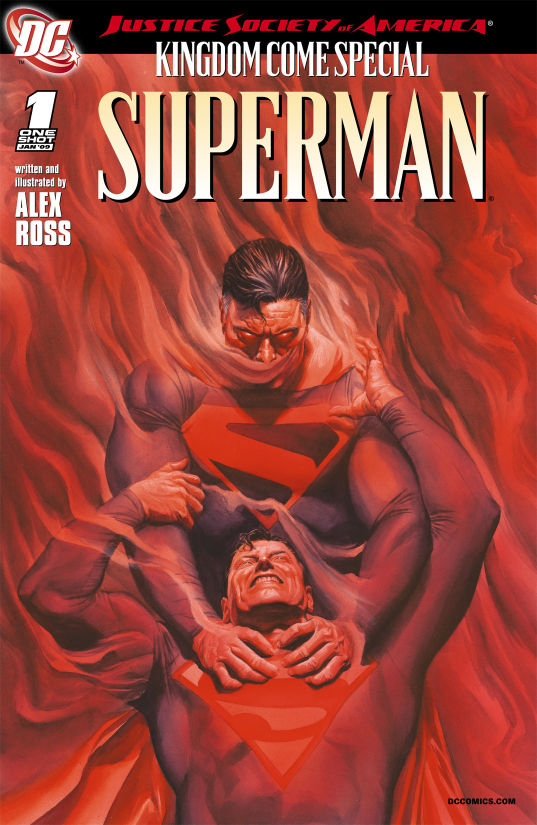 Read online JSA Kingdom Come Special: Superman comic -  Issue # Full - 1