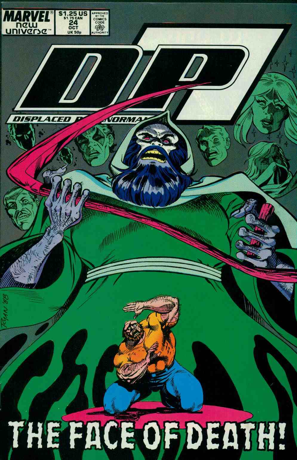 Read online DP7 comic -  Issue #24 - 1