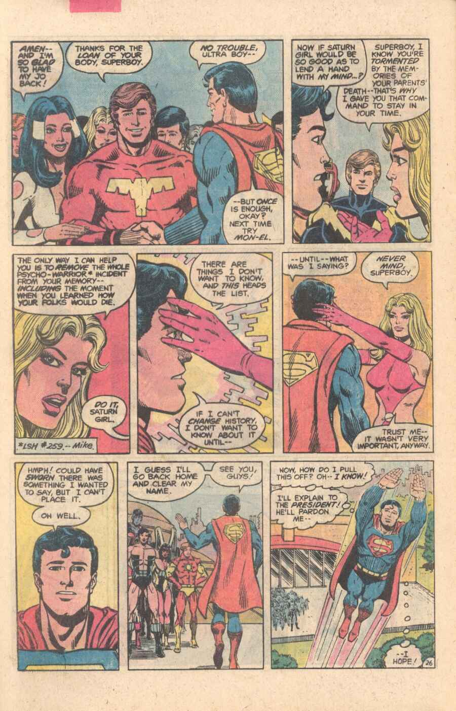 Legion of Super-Heroes (1980) 282 Page 26