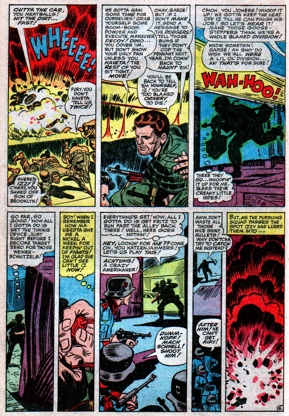 Read online Sgt. Fury comic -  Issue #12 - 10
