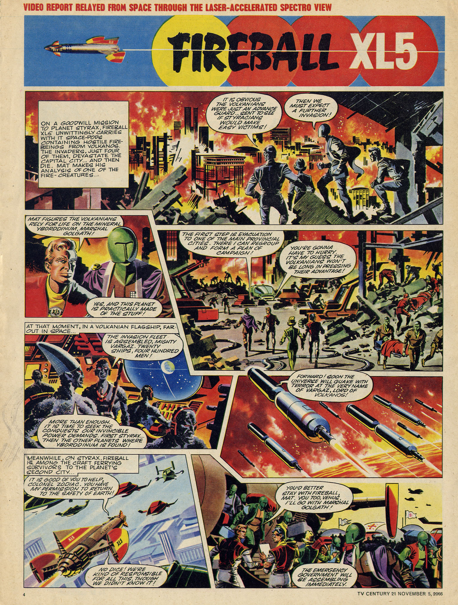 Read online TV Century 21 (TV 21) comic -  Issue #94 - 4