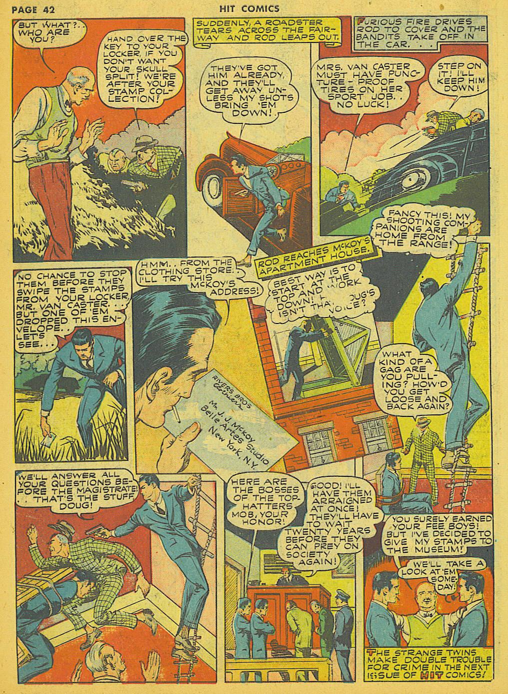Read online Hit Comics comic -  Issue #21 - 44