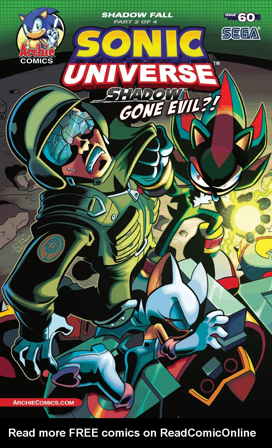 Read online Sonic Universe comic -  Issue #60 - 1