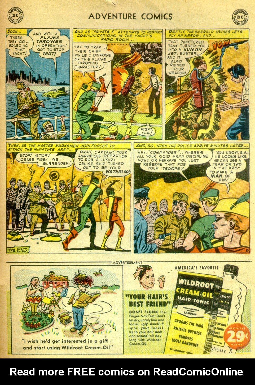 Read online Adventure Comics (1938) comic -  Issue #181 - 40