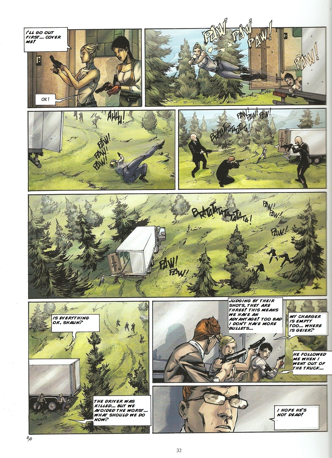 Read online Assassin's Creed (2009) comic -  Issue #2 - 32