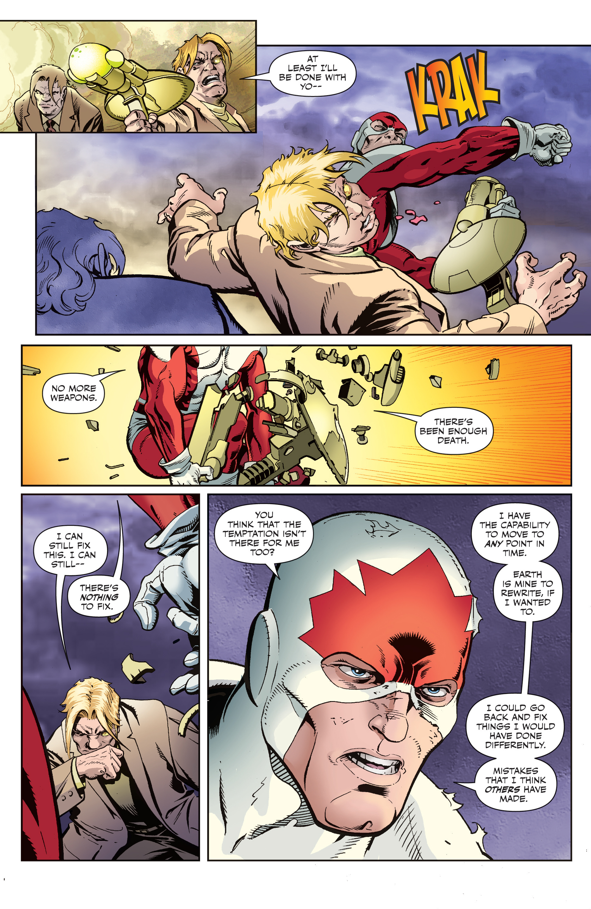 Read online All-New Classic Captain Canuck comic -  Issue #4 - 17