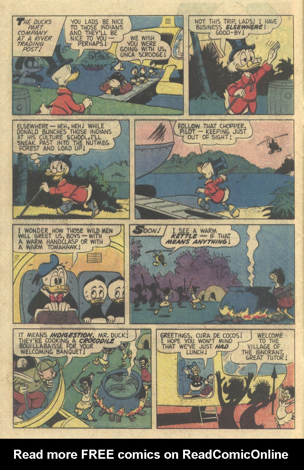 Read online Uncle Scrooge (1953) comic -  Issue #176 - 8