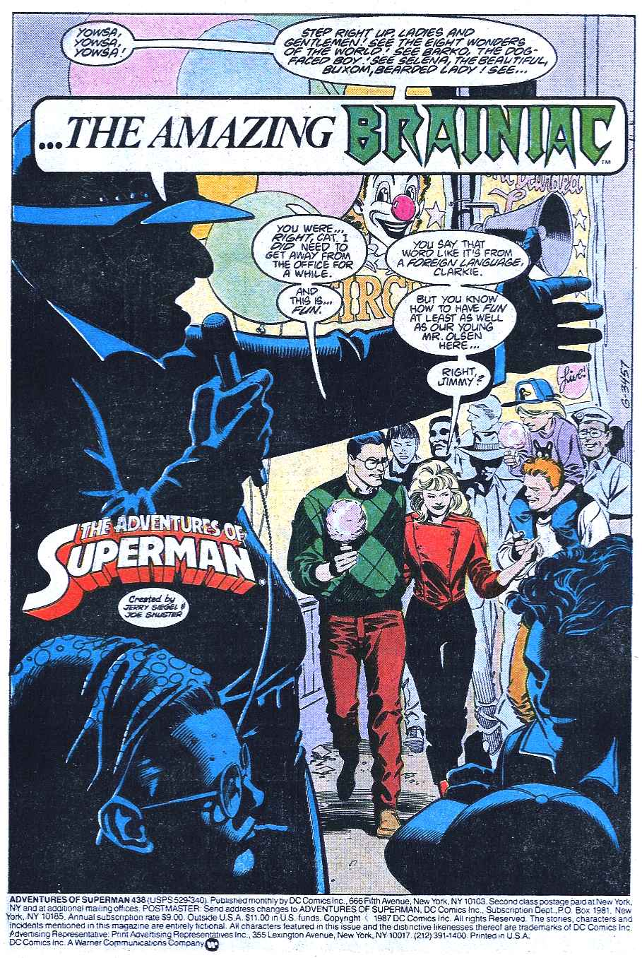 Read online Adventures of Superman (1987) comic -  Issue #438 - 2