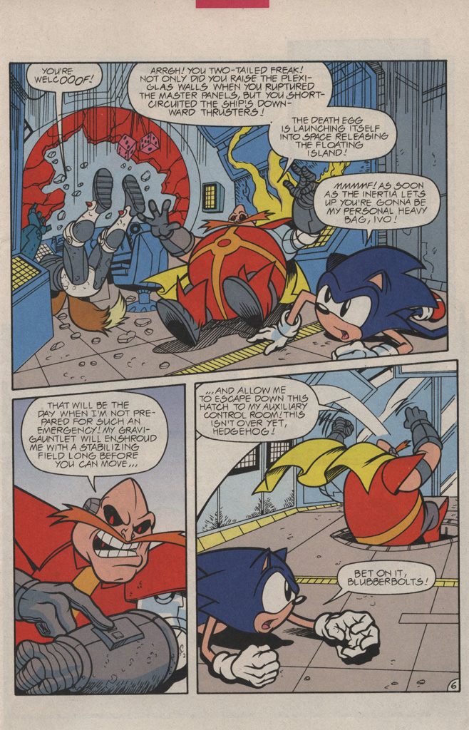 Archie S Sonic The Hedgehog Or The Ride Mk Ii Sv Edition Comics Page 7 Sufficient Velocity