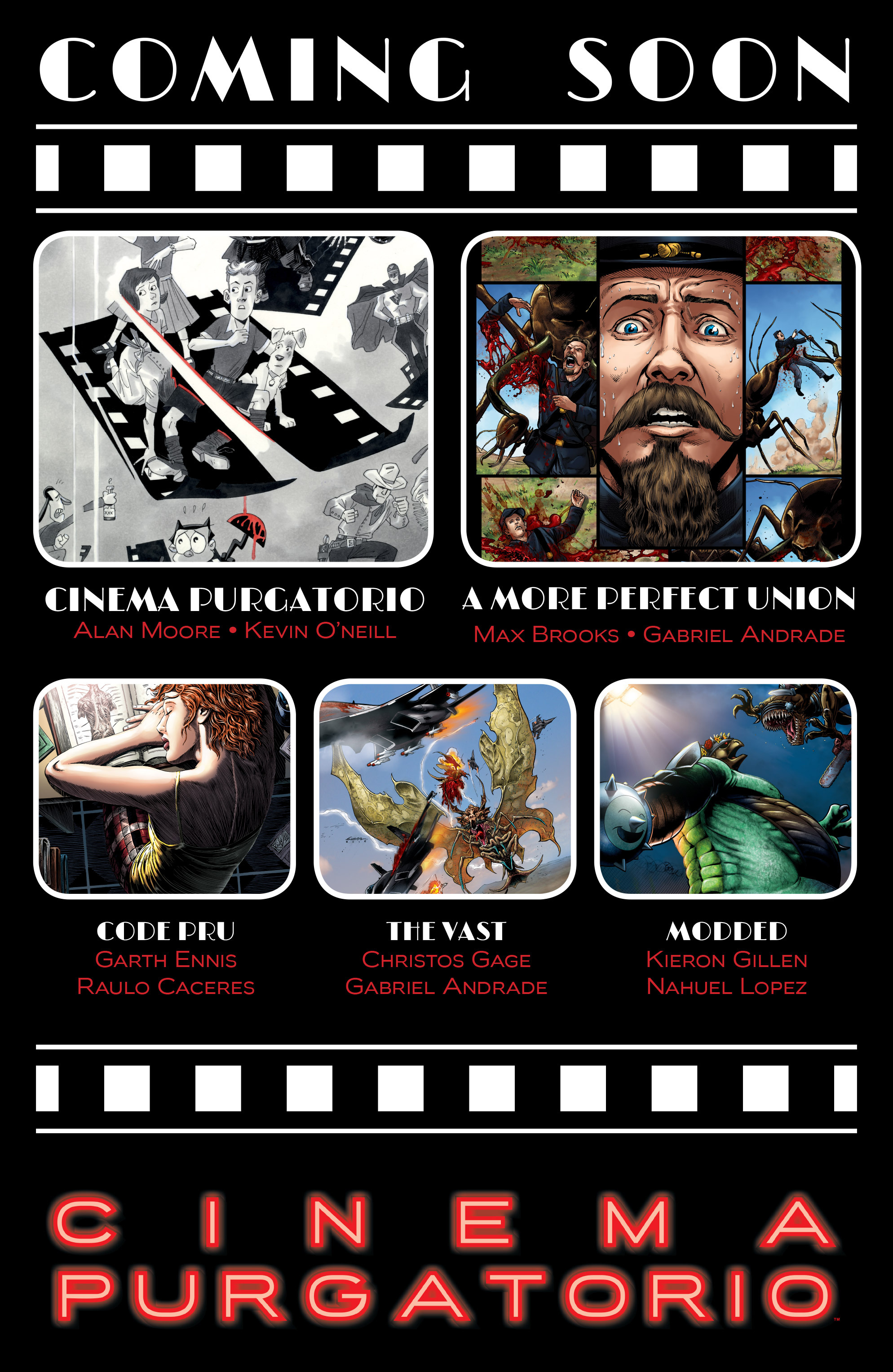 Read online Alan Moore's Cinema Purgatorio comic -  Issue #9 - 52