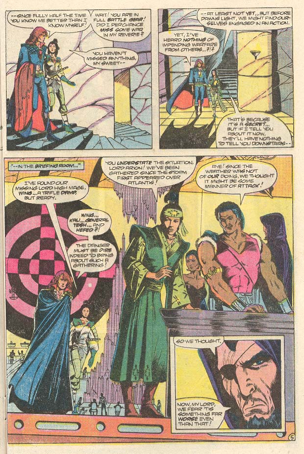 Read online Arion, Lord of Atlantis comic -  Issue #30 - 6