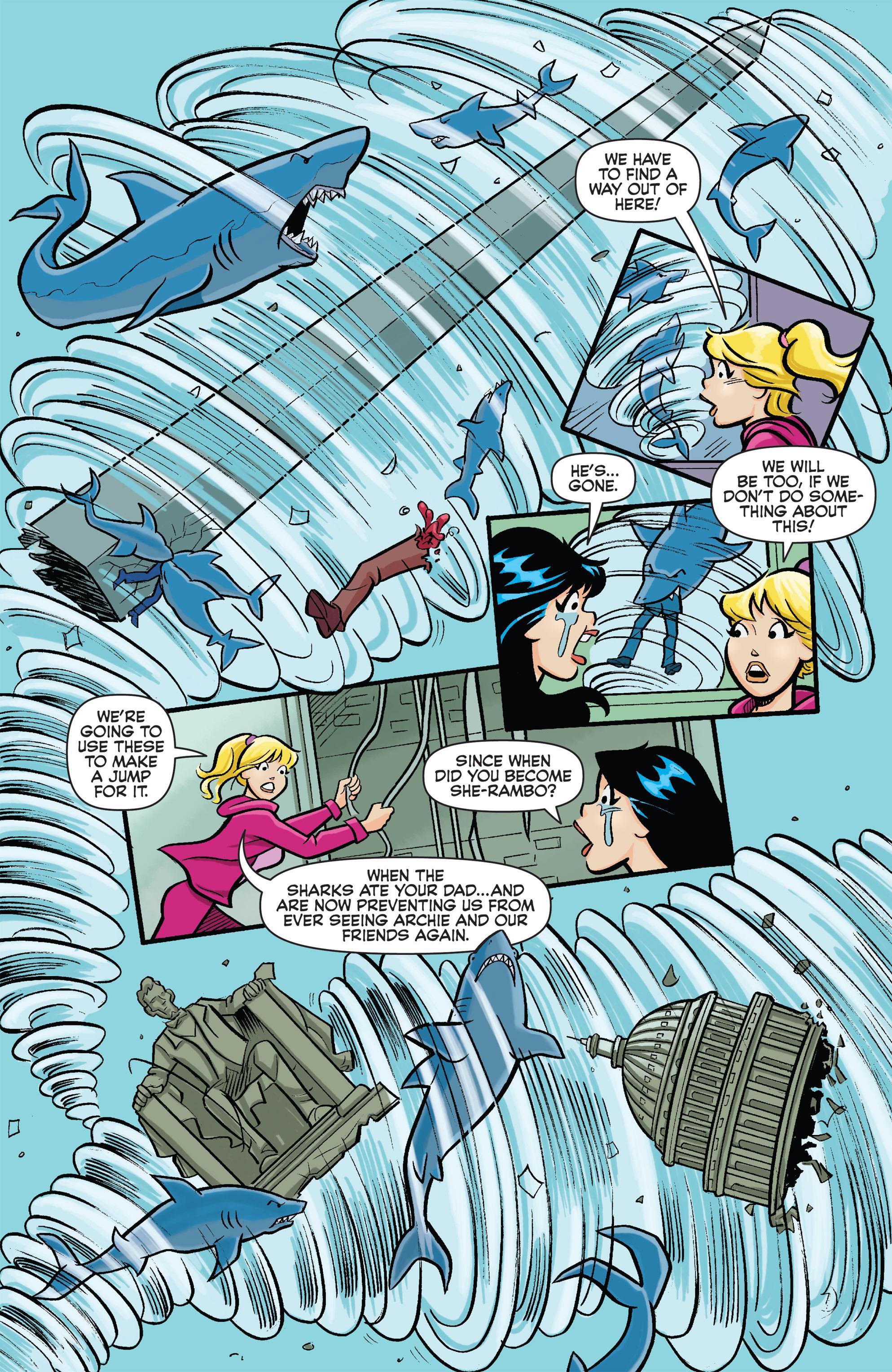 Read online Archie vs. Sharknado comic -  Issue #Archie vs. Sharknado Full - 8