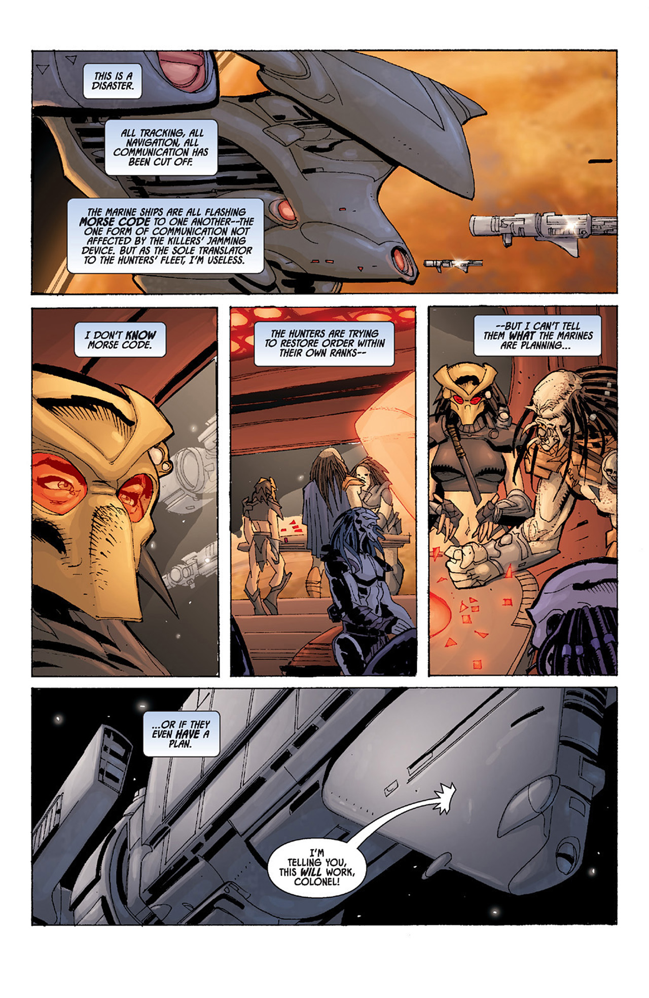 Read online Aliens vs. Predator: Three World War comic -  Issue #4 - 14