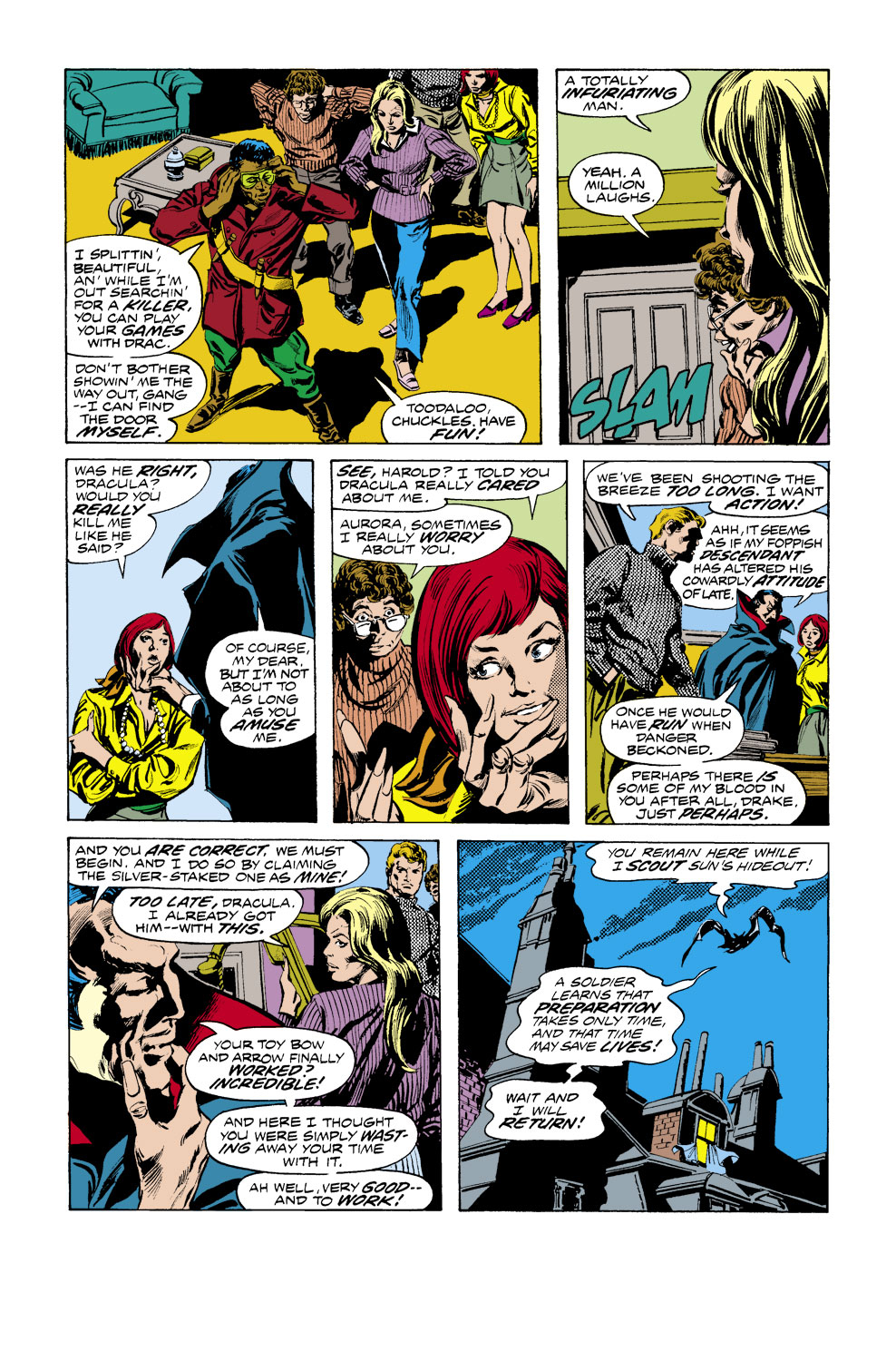 Tomb of Dracula (1972) issue 41 - Page 12