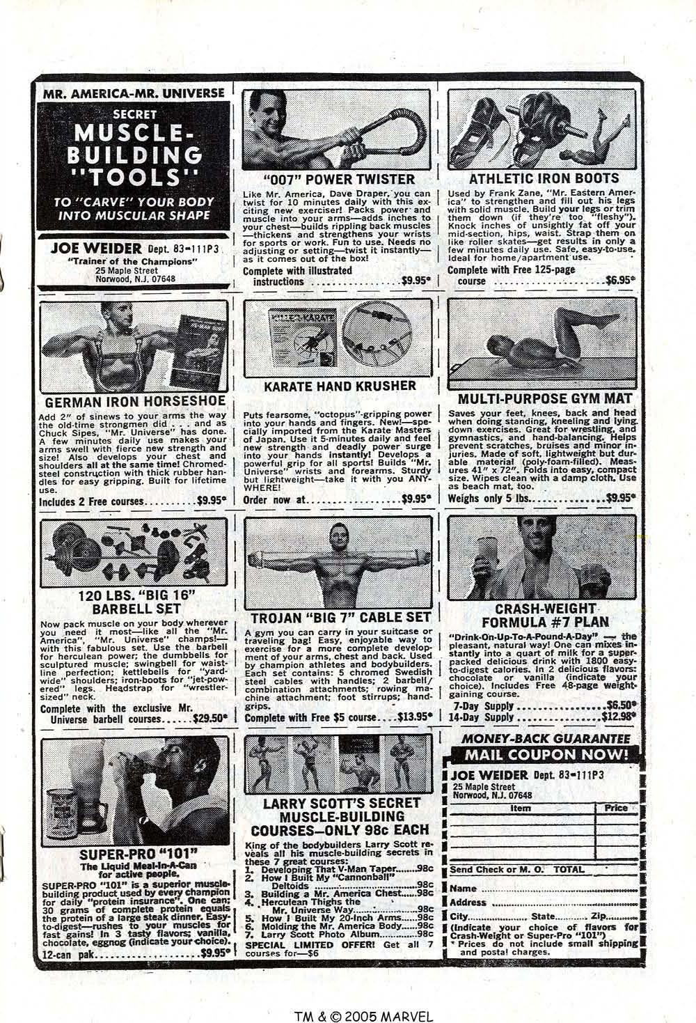 Read online Uncanny X-Men (1963) comic -  Issue #73 - 19