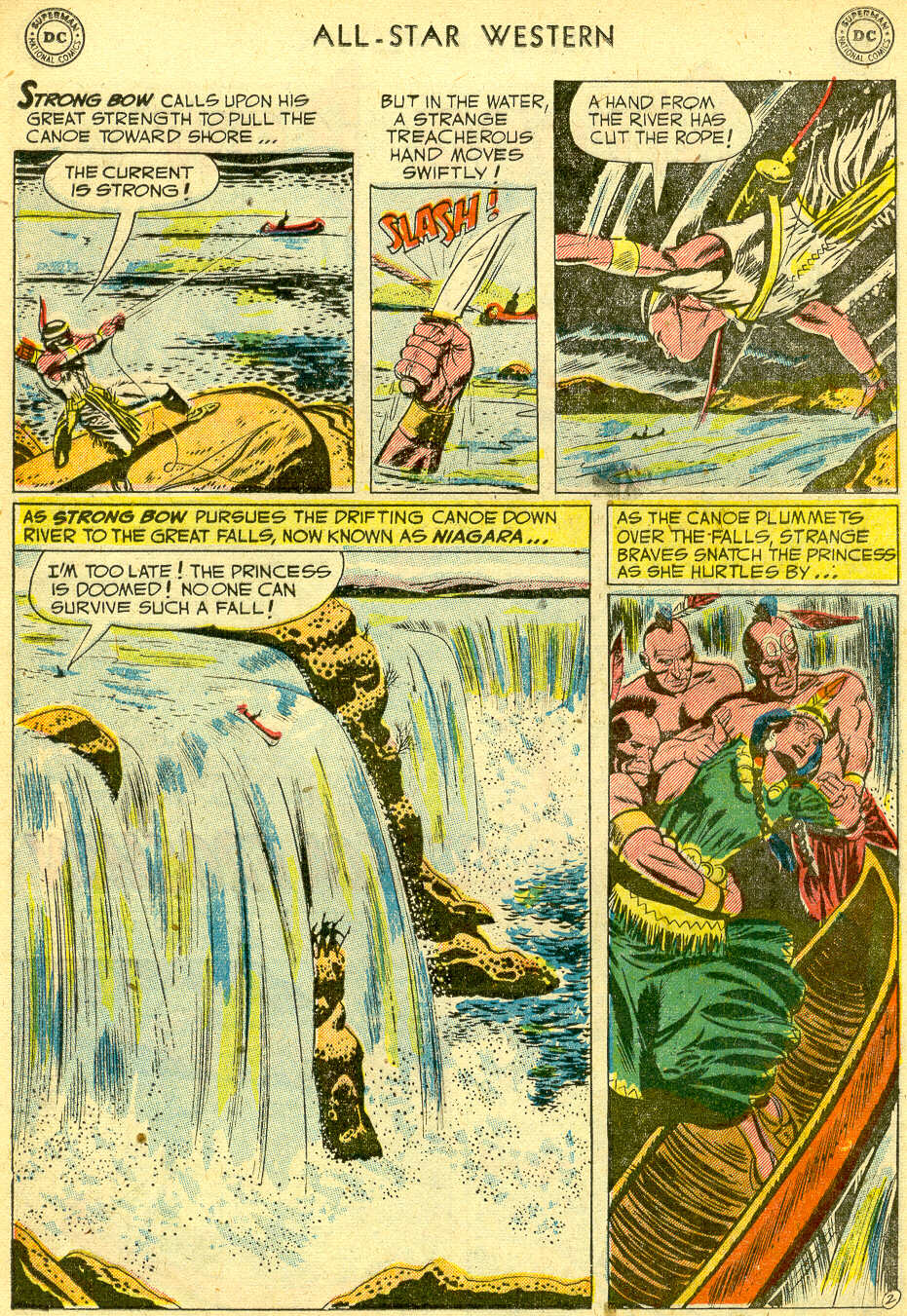 Read online All-Star Western (1951) comic -  Issue #68 - 12