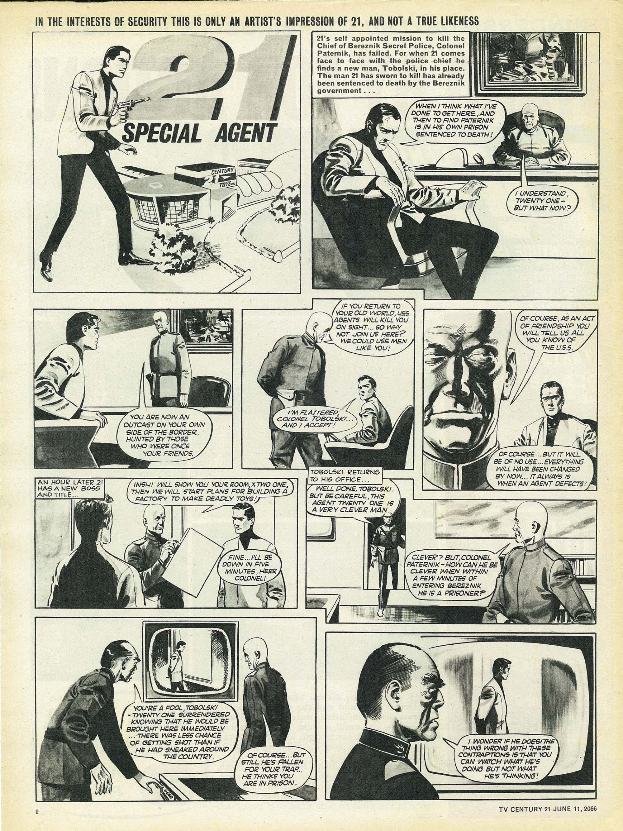 Read online TV Century 21 (TV 21) comic -  Issue #73 - 2