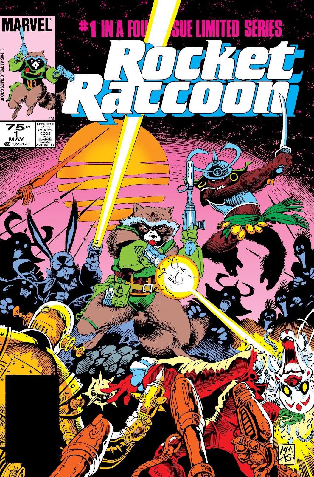 Rocket Raccoon (1985) 1 Page 1