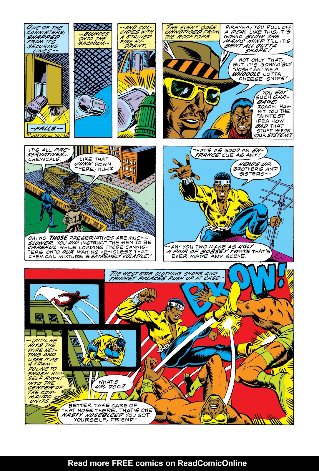 Read online Marvel Masterworks: Luke Cage, Power Man comic -  Issue # TPB 2 (Part 3) - 73