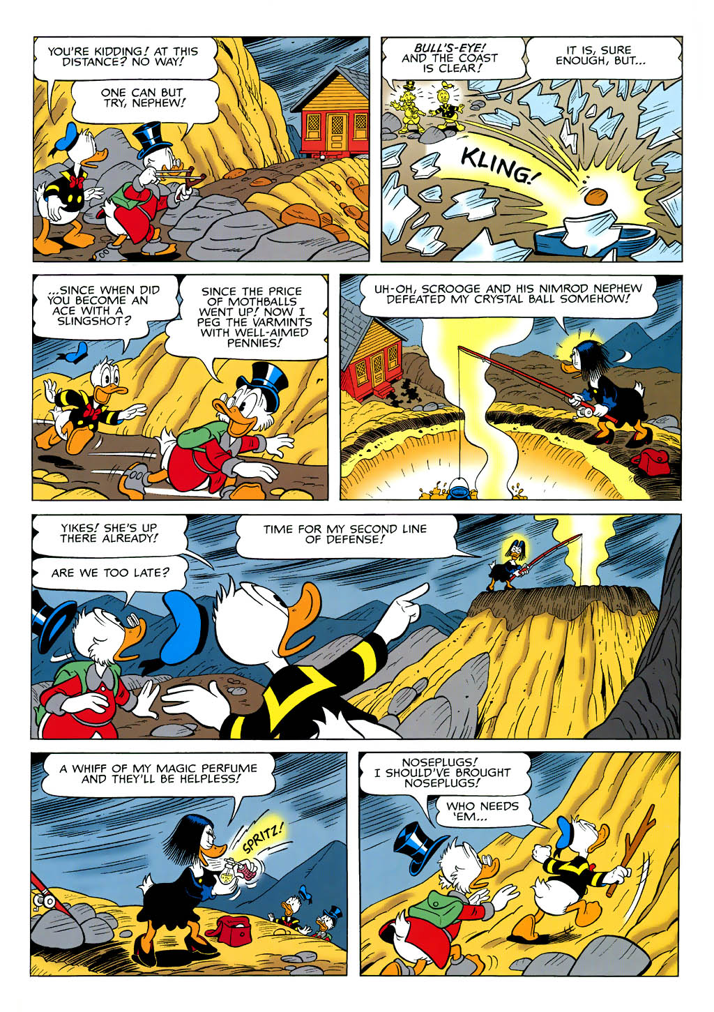 Read online Uncle Scrooge (1953) comic -  Issue #321 - 30