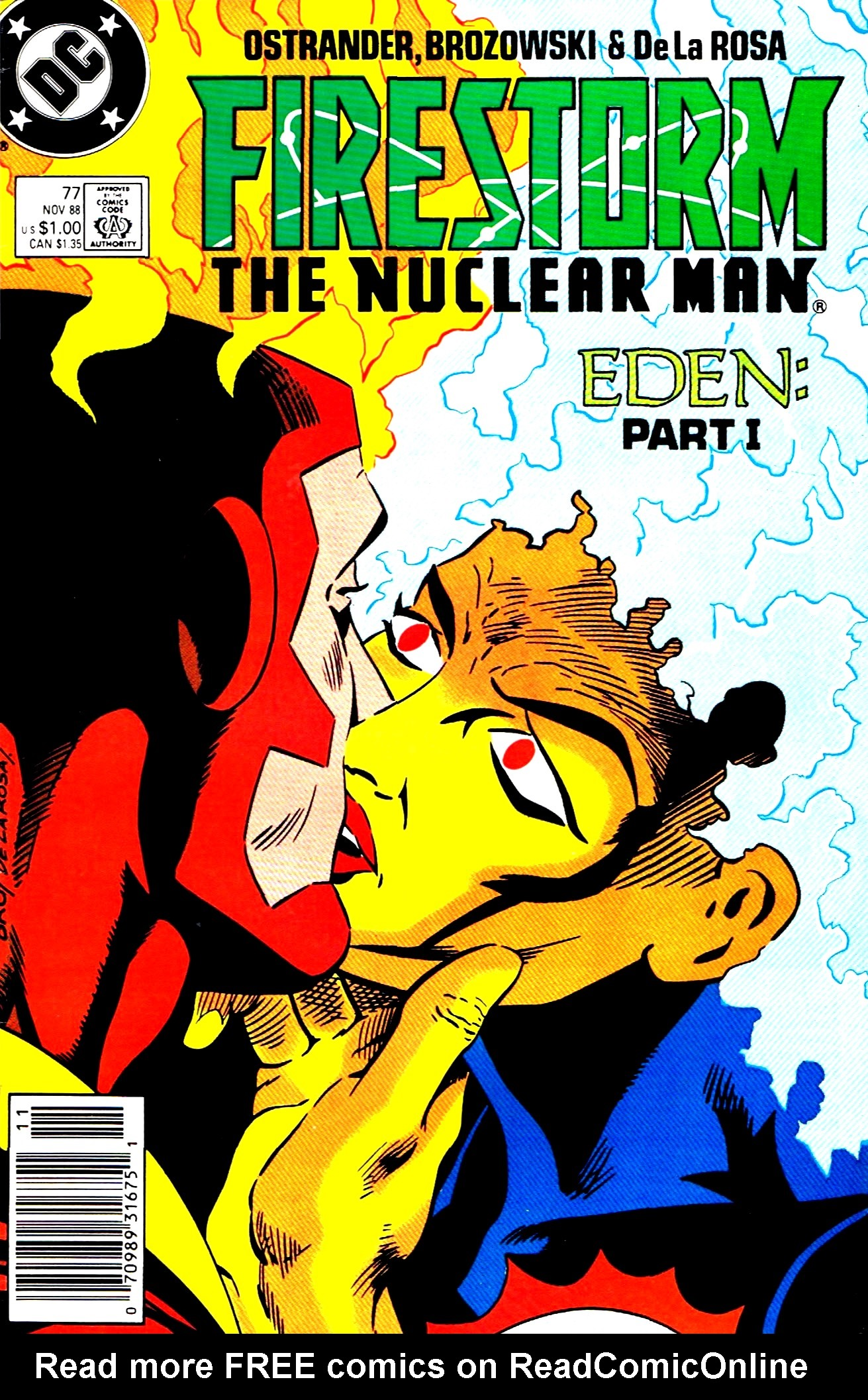 Firestorm, the Nuclear Man 77 Page 1