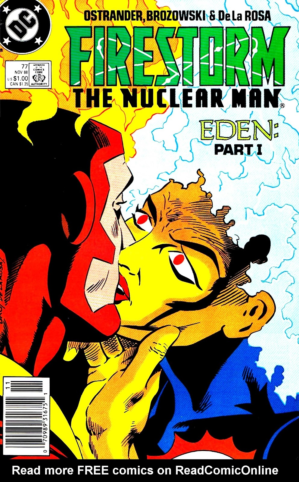 Firestorm, the Nuclear Man issue 77 - Page 1