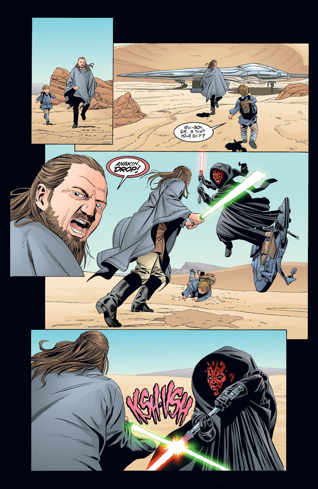 Read online Star Wars Legends: Rise of the Sith - Epic Collection comic -  Issue # TPB 2 (Part 3) - 94