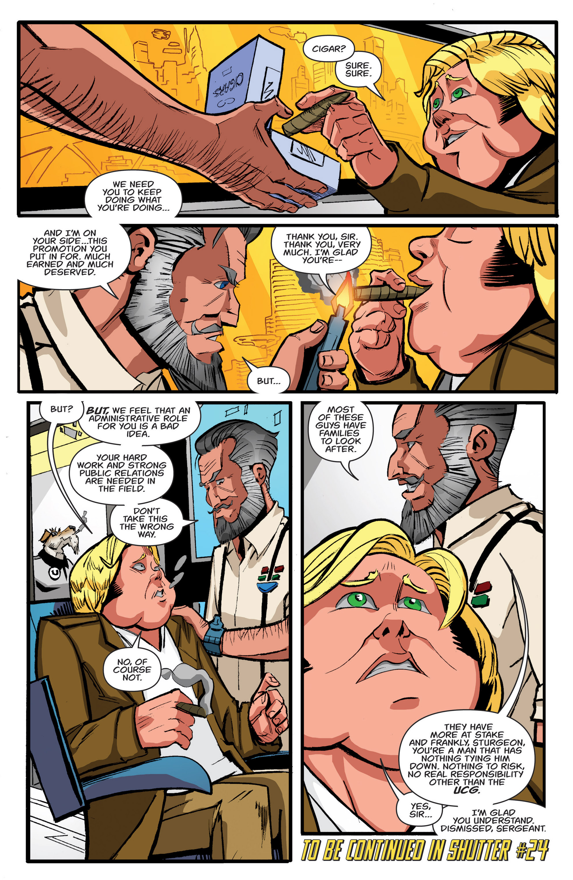 Read online Shutter comic -  Issue #23 - 24