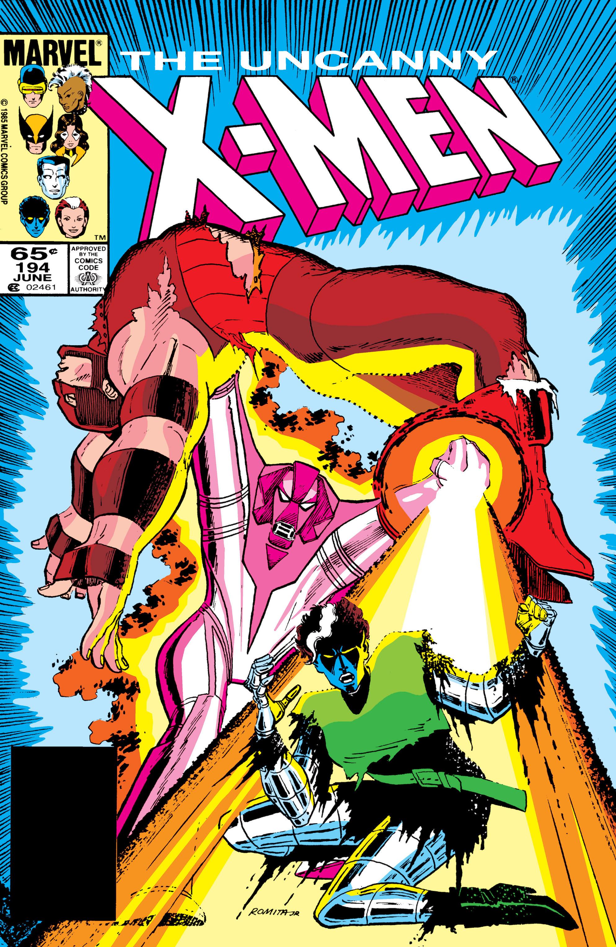 Uncanny X-Men (1963) 194 Page 1