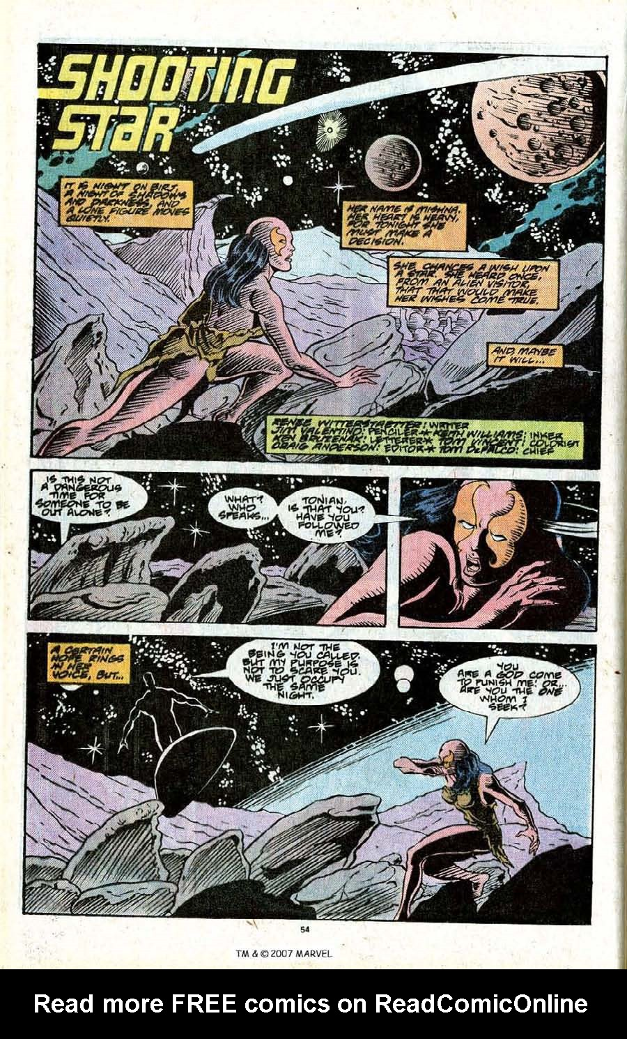 Read online Silver Surfer (1987) comic -  Issue # _Annual 2 - 56