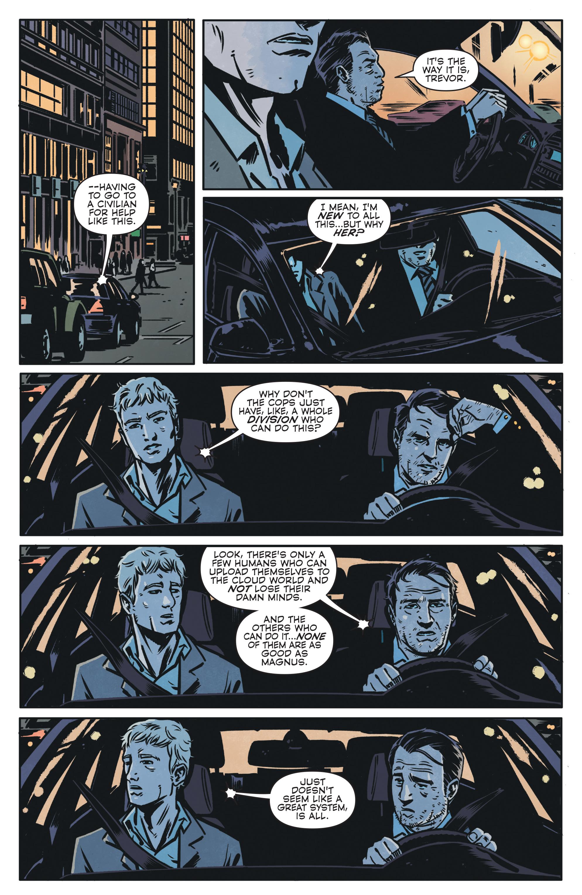 Read online Magnus comic -  Issue #1 - 21