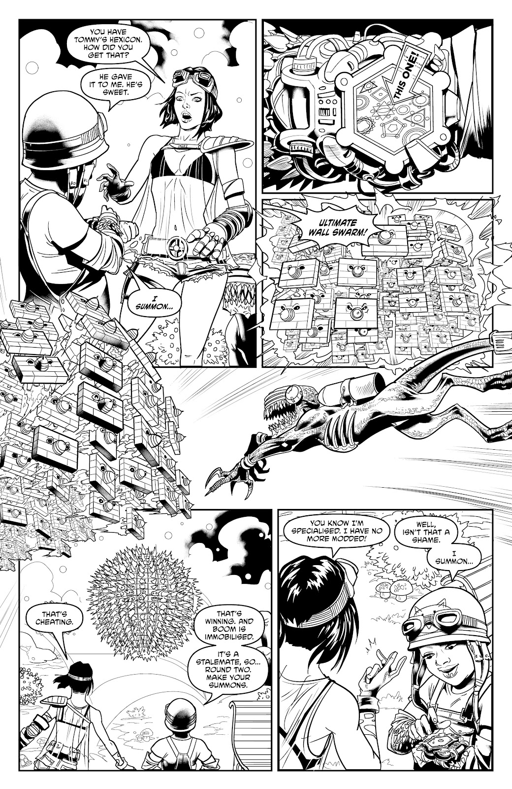 Read online Alan Moore's Cinema Purgatorio comic -  Issue #17 - 31