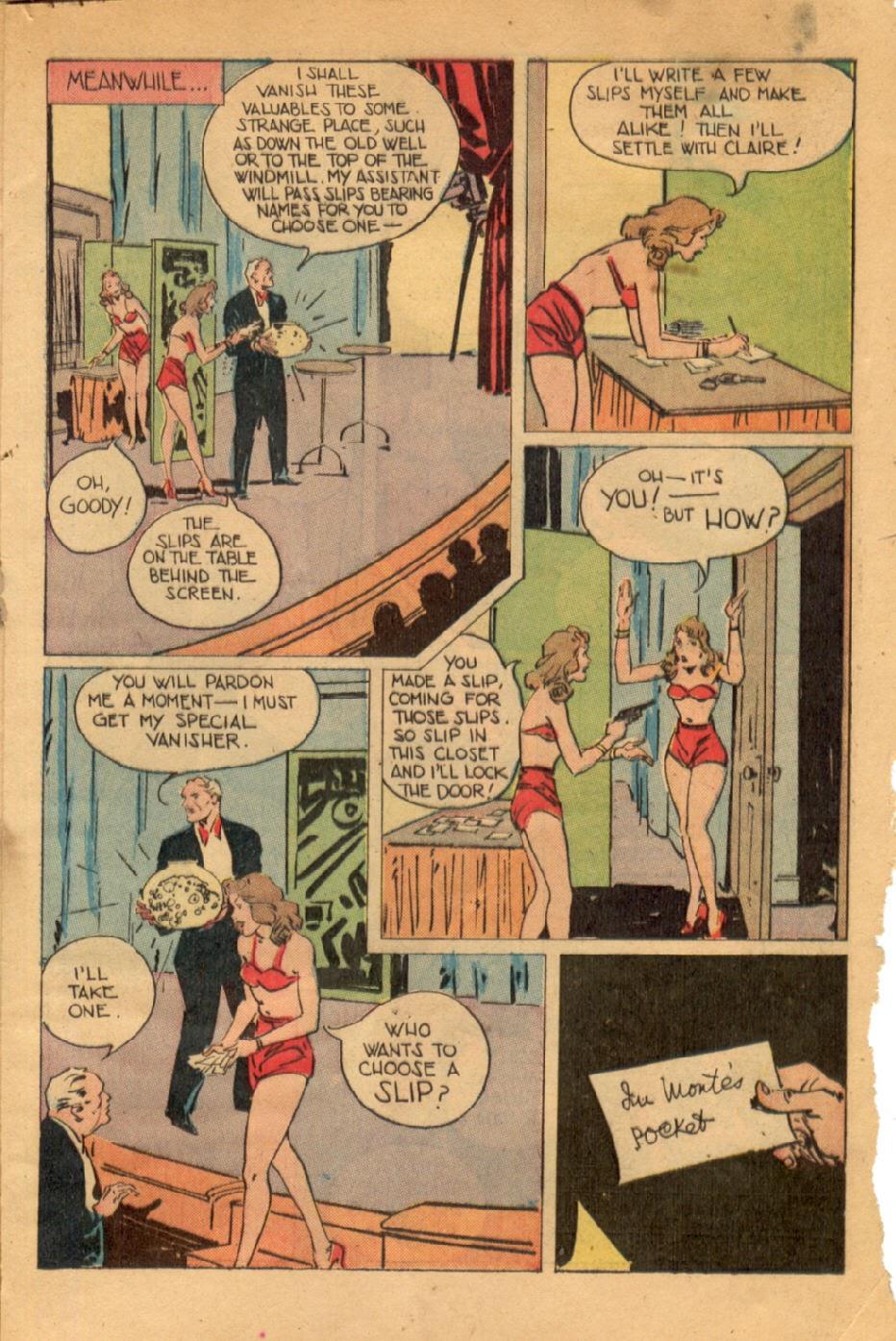 Read online Super-Magician Comics comic -  Issue #43 - 49