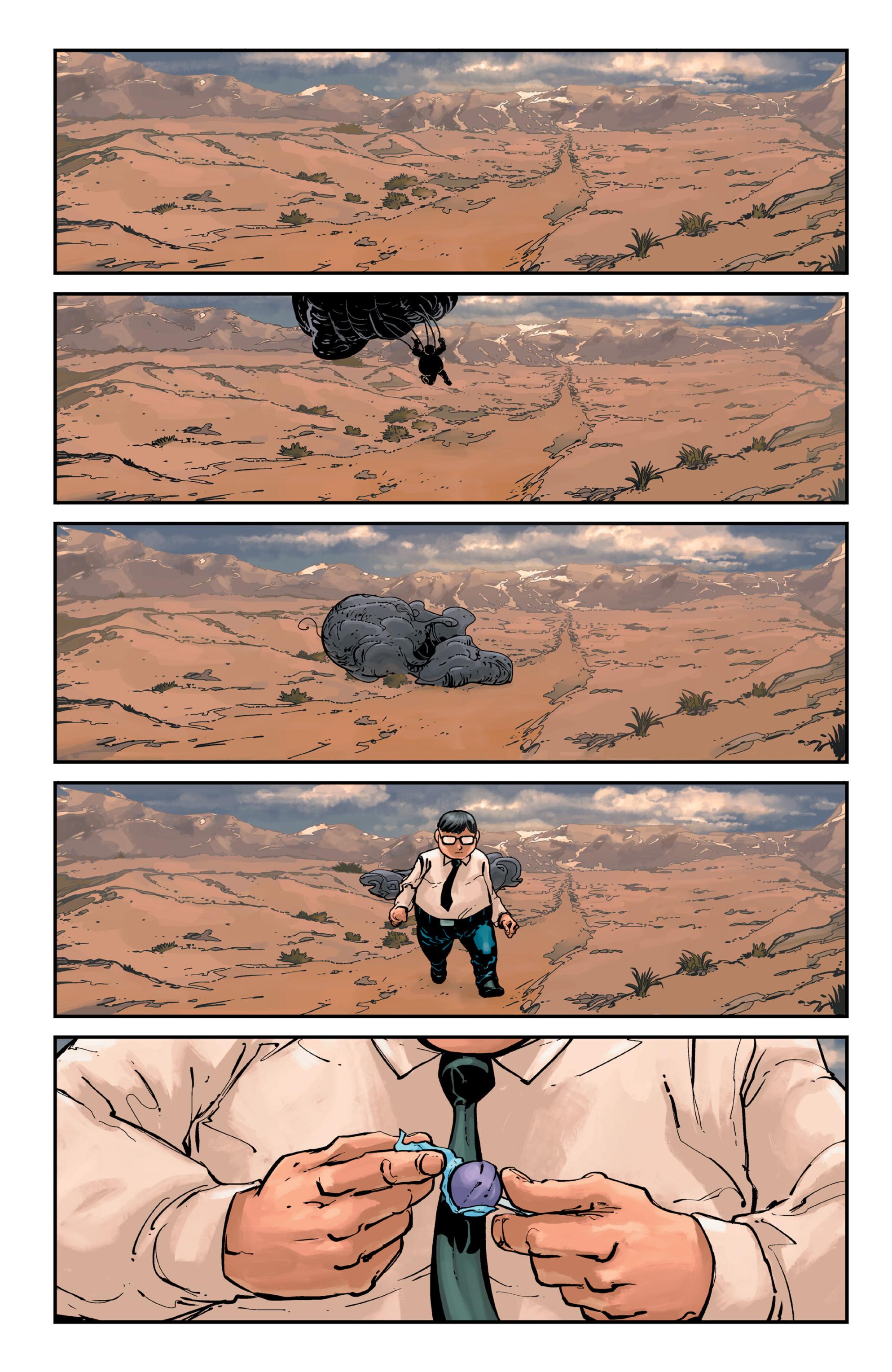 Read online Brain Boy:  The Men from G.E.S.T.A.L.T. comic -  Issue # TPB - 40