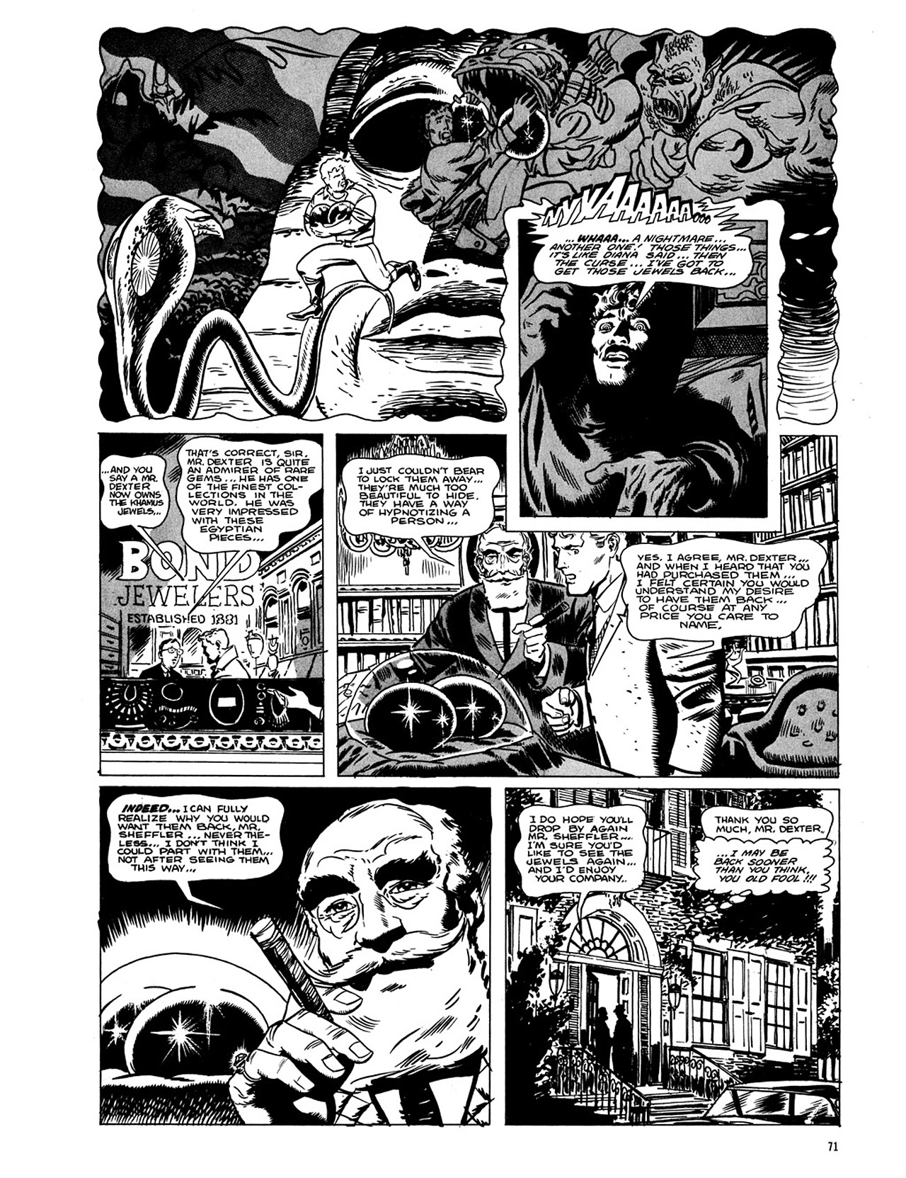 Read online Eerie Archives comic -  Issue # TPB 4 - 72